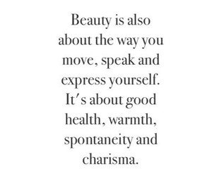 quote, beauty, and true image