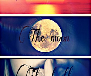 The Moon, the sun, and teen wolf image