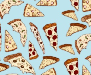 food, fun, and pizza image