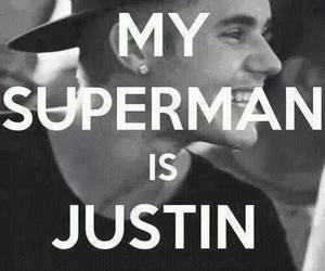 justin bieber, superman, and justin image
