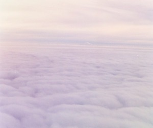 clouds, infinity, and pastel image