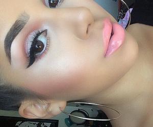contour, fashion, and lips image
