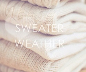 autumn, cold, and sweater weather image