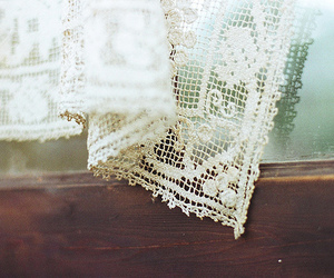 vintage, lace, and window image