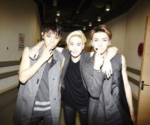 exo, tao, and sehun image