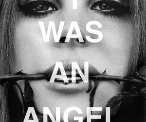 lana del rey, quote, and angel image