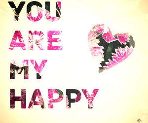 friendship, happy, and you are my happy image