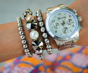bracelet, design, and fashion image