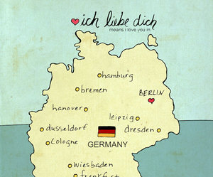 germany and love image