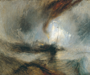art, turner, and painting image
