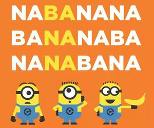 minions, song, and banana image