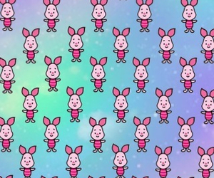 piglet and background image