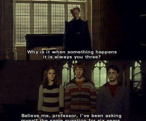 funny, true, and harry potter image