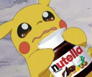 nutella, pikachu, and pokemon image