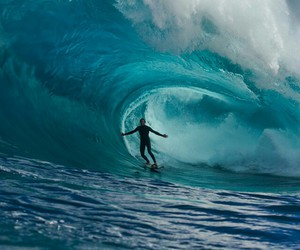 kelly slater, ocean, and sea image