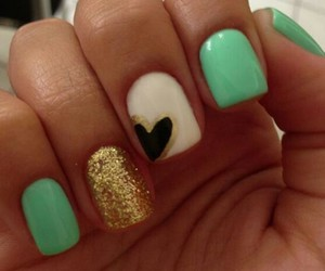 desing, ♥, and nails image