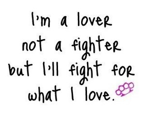 love, fighter, and fight image