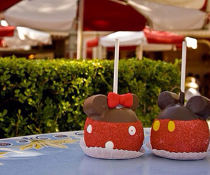 disney, food, and mickey image