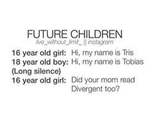 four, allegiant, and six image