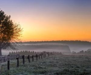 landscape, photography, and sunset image