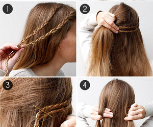 braid, cool, and cute image