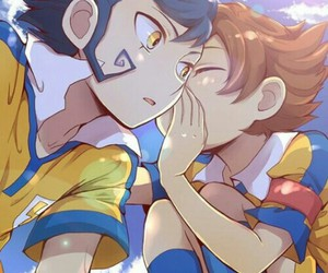 victor, arion, and inazuma eleven go image