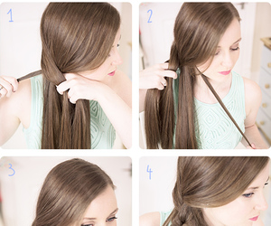 braid, cool, and hair image