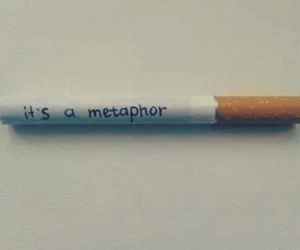 metaphor, it, and smoke image