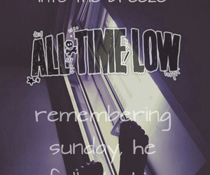 all time low and remembering sunday image