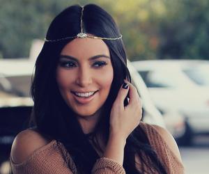 kim kardashian, hair, and beauty image