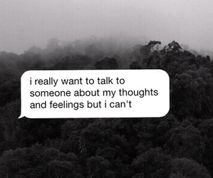 sad, quotes, and feelings image