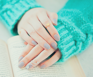 nails, book, and rings image