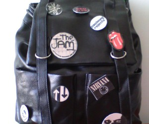 backpack, pins, and american horror story image