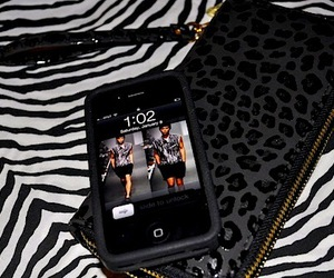 iphone, fashion, and black image