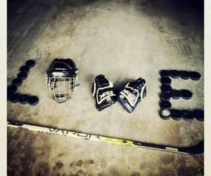 sport, love, and hockey image