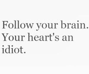 heart, brain, and love image