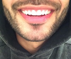 smile, boy, and teeth image