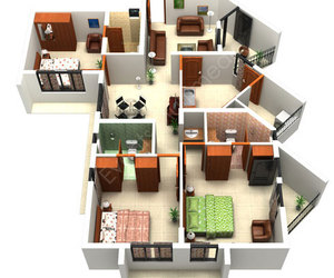 The House Floor Plan Maker For Making Home Concept: The Remarakble 3d House Floor  Plan Layout Tool And There Are Many Rooms In Your House There ~ Niabai
