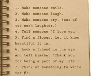 list, quote, and life image