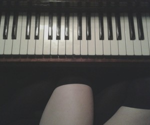 indie, legs, and music image