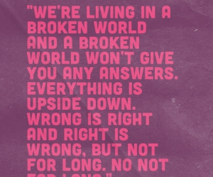 pink, purple, and quotes image