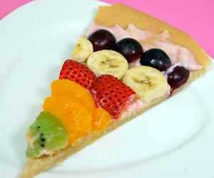 fruit, healthy, and pizza image