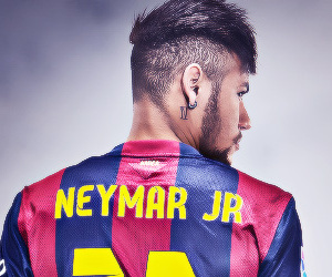 fc barcelona and neymar image