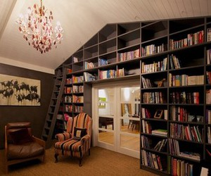 book, room, and reading image