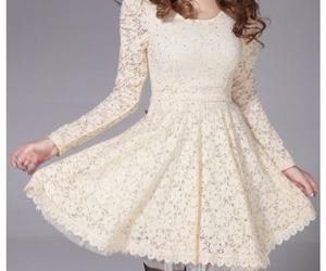 dress, beautiful, and vintage image