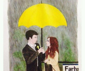 couple, himym, and umbrella image