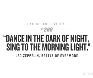 led zeppelin, quote, and dance image