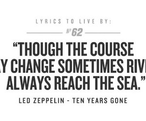 change, led zeppelin, and music image