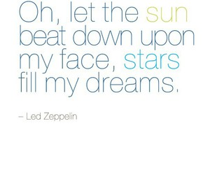 stars, dreams, and led zeppelin image