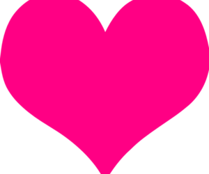 heart, hearts, and pink heart image